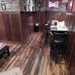 Mixed Weathered and Reclaim Oak Wood Floor