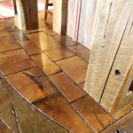 Reclaim End Grain Brick Flooring