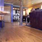Reclaimed Fir Flooring and Reclaimed Cabinets