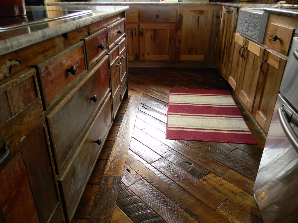 Reclaim Salvaged Balsam Wide Plank Flooring