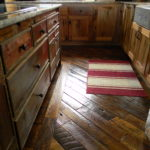 Reclaimed Oak Plank Floors