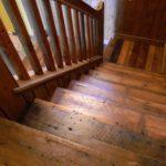 Reclaimed Stairway in Bone Lake, WI
