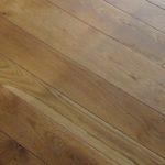 Micro-bevel edges on a Character White Oak Floor