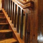 2 x 2 Relcaim Pine Ballusters and a 4 x 6 Reclaim Pine Handrail Stair Parts