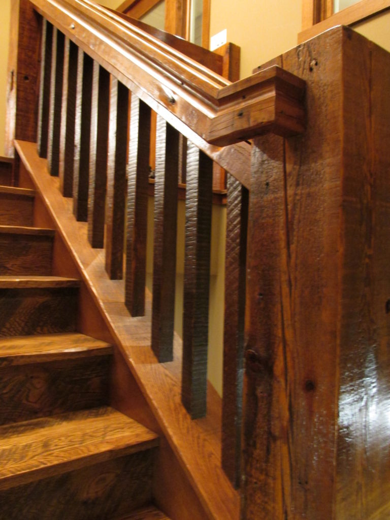 Amazing X Relcaim Pine Ballusters And A X Reclaim Pine Handrail Stair Parts  With Stair Parts.