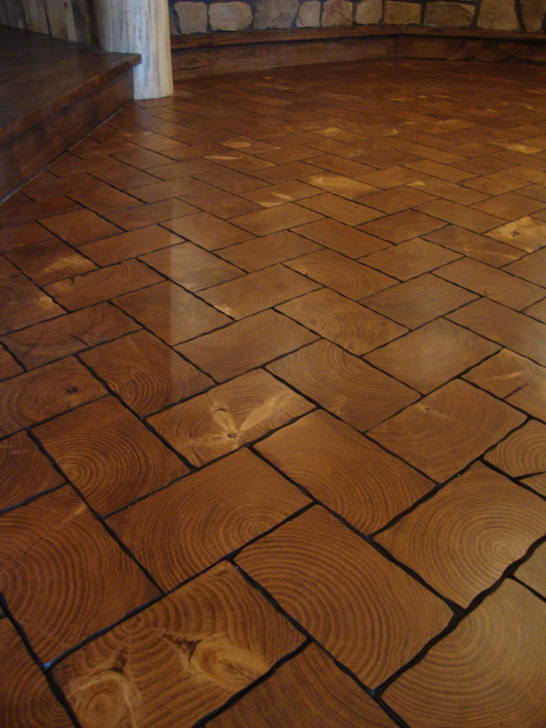 End Grain Wood Floors Balsam Wide