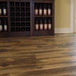 7 inch Circle Skip Sawn White Pine Wide Plank Flooring