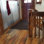8.5 inch Carriage House Pine Wood Flooring with Soft Scrape Edges