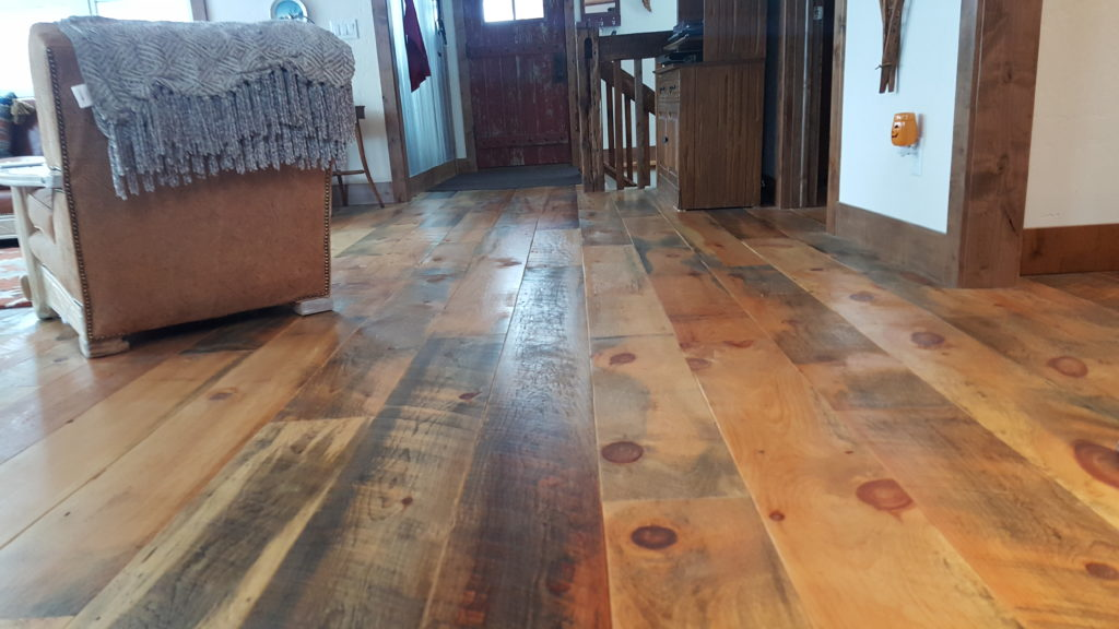 White Pine Flooring Balsam Wide Plank Flooring