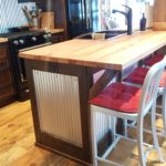 8.5 inch Skip Sawn Carriage House Pine Wood Flooring with Soft Scrape Edges