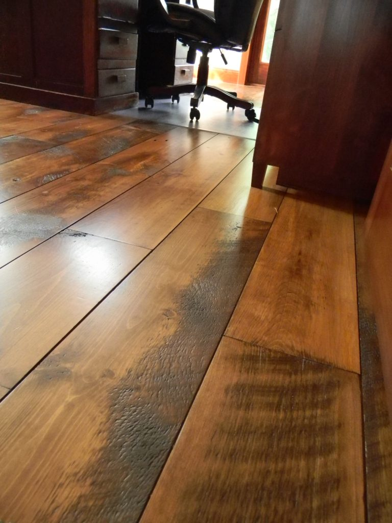 White pine flooring balsam wide plank flooring for Carriage house flooring