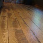 Band Sawn Skip White Oak Flooring