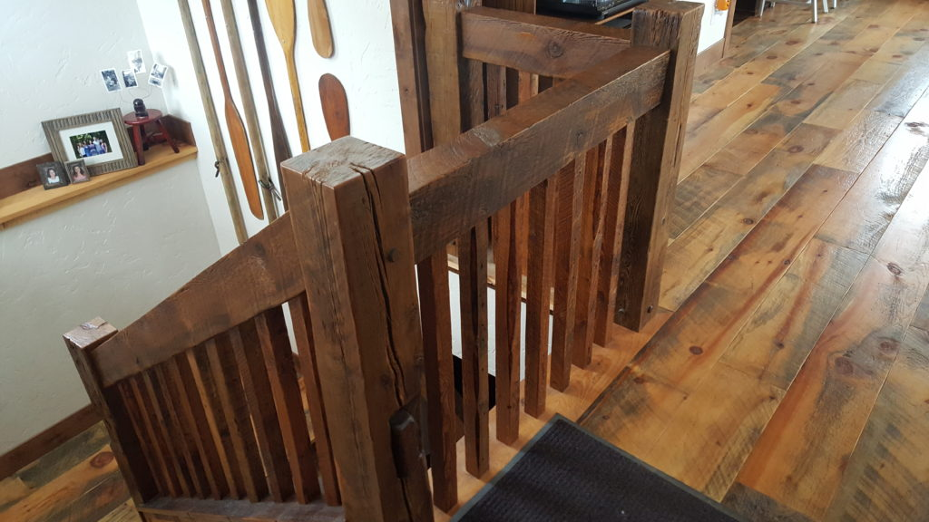 Stair parts balsam wide plank flooring for Carriage house flooring