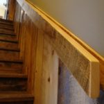 Carriage House Pine Wainscott and Handrail Stair Parts