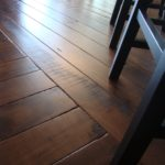 Character Band Sawn Skip Black Walnut Hardwood Floor
