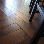 Character Band Sawn Skip Black Walnut Hardwood Floor