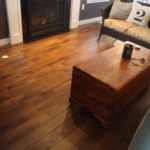 Character Skip Sawn Black Walnut Wide Plank Flooring