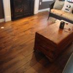 Character Skip Sawn Black Walnut Wide Plank Flooring