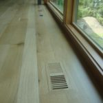Character White Oak Floor and Vent
