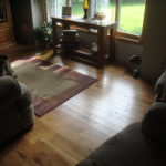 Character White Oak Floor with a Microbevel Edge Detail