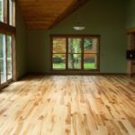 Character Wild Maple with Pine Ceilings and Trim and Wormy Butternut Cabinets
