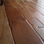 Cherry Wide Plank Floors with Soft Scrape Edges