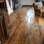 Circle Skip Sawn Carriage House Pine Wood Floors
