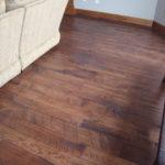 Circle Skip Sawn Hickory Wide Plank Flooring