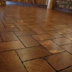 Cobble Stone End Grain Pine Blocks 6 x 9