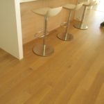 Contemporary White Oak Flooring with Rubio Monocaot