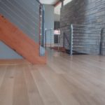 Custom Modern Wide Plank White Oak Floor