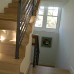 Custom Premium White Oak Stair Parts