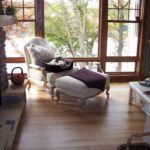 Custom Red Oak Hardwood Floor