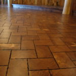 End Grain Pine Flooring