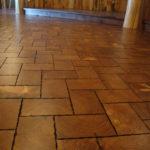 End Grain Pine Flooring