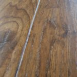 Micro-bevel Edge on Hickory Floor with Light Face Scrape