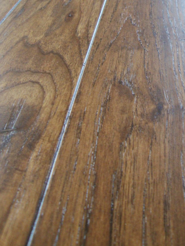 Micro Bevel Edge On Hickory Floor With Light Face Se