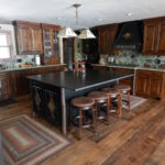 Mixed Width Carriage House Pine Flooring