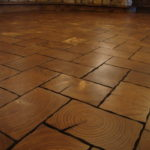 Pine End Grain Wood Flooring