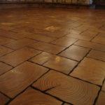 Pine End Grain Wood Flooring