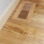 Premium Red Birch Flooring with Square Edge with Vent to Match