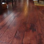 Rustic Skip Sawn Hickory Flooring
