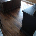 Skip Sawn Black Walnut Flooring