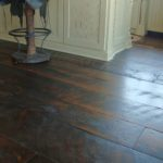 Skip Sawn Carriage House Pine Floor