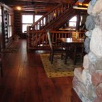 Skip Sawn Hickory Wood Floor