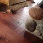 Skip Sawn Hickory Wood Flooring