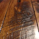 Skip Sawn Hickory Hardwood Custom High-End Flooring