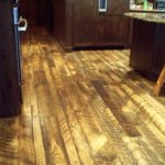 Skip Sawn Pine Wood Floors