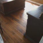 Skip Sawn Walnut Wood Floors