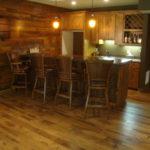 Skip Sawn White Oak Wide Plank Floor